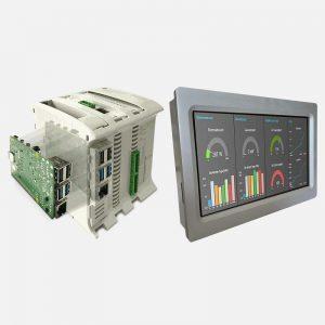 PLC y HMI de Código Abierto